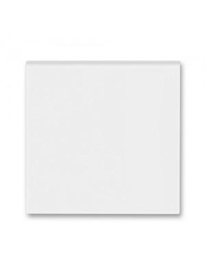 Клавіша вимикача Levit білий/крижаний білий 1кл