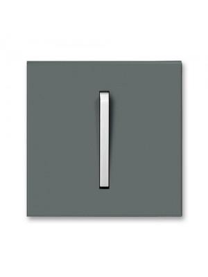 Клавіша вимикача Neo графіт/крижаний білий 1кл