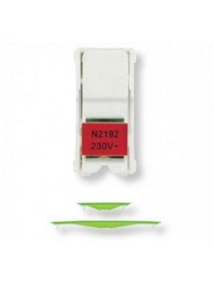 Підсвітка Zenit LED для вимикача прох./пром. червона