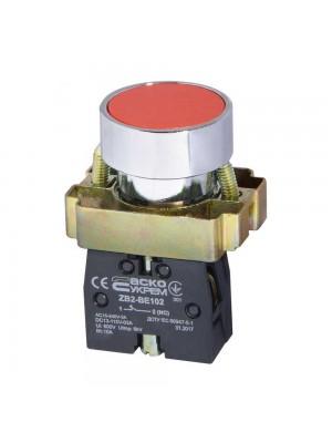 Кнопка АСКО XB2-BA42 Стоп (червона)