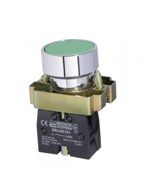 Кнопка АСКО XB2-BA31 Старт (зелена)