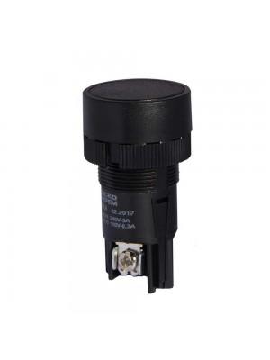 Кнопка АСКО XB2-EA121 Старт (чорна)