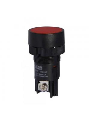Кнопка АСКО XB2-EA142 Стоп (червона)