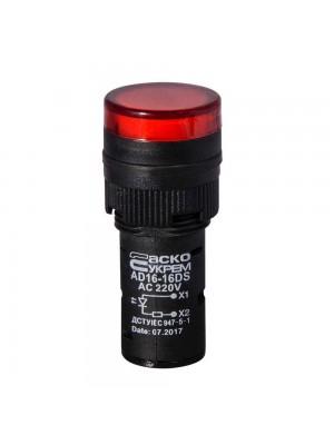 Світлосигнальна арматура AD16-16DS 220V