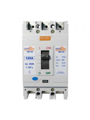Автоматичний вимикач АСКО ВА-2004 FB125 3/125А ECOHome