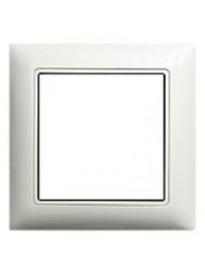 Рамка ABB basic55 біла 1-на