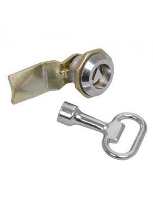 Замок-засув IEK для металевого боксу з тригранним ключем IP54