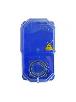 Коробка під однофазний лічильник КДЕ-2 ударостійка синя