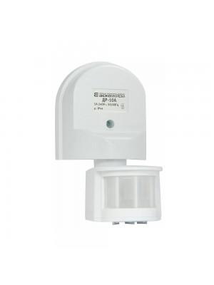 Датчик руху АСКО ДР-10А 12м 180 білий IP44