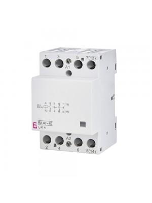 Контактор модульний ETI RA 40-40 230B AC