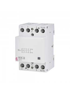 Контактор модульний ETI RA 63-40 230B AC