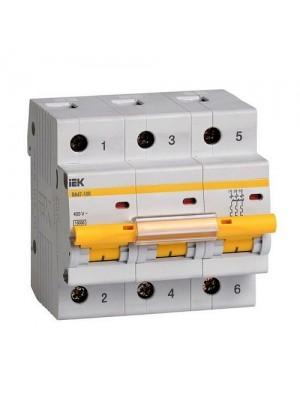 Автоматичний вимикач ВА 47-100 3Р 50А ІЕК