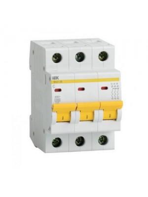 Автоматичний вимикач ВА 47-29M 3Р 63А ІЕК
