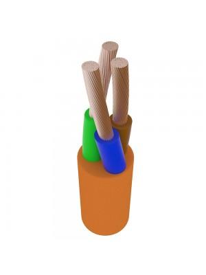 Провід ПВС 3х1,5 Прикарпаткабель помаранчевий