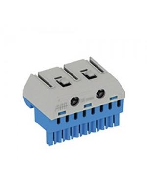 Блок N-клем 8x1,5-4мм + 2x25мм 41Z72 АББ