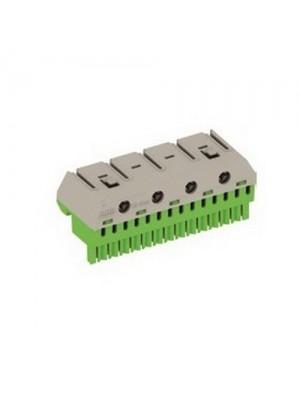 Блок PE-клем 14x1,5-4мм + 4x25мм 41Z80 АББ