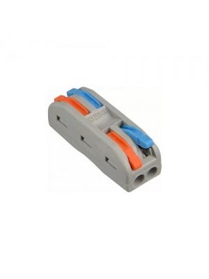 Клема швидкого монтажу 2x2х4 мм² прохідна PCT-2-2-C ACKO
