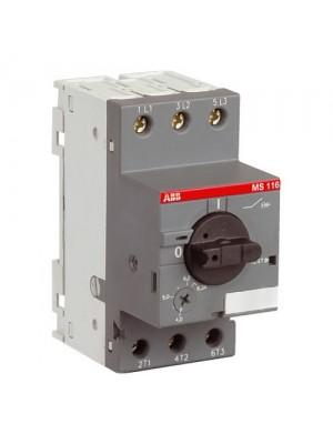 Автомат захисту двигуна ABB MS116 -1 (0,63А-1A)