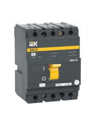 Автоматичний вимикач IEK ВА 88-33 3P 100A 35kA