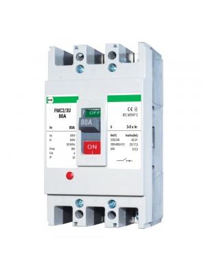 Автоматичний вимикач Промфактор FMC2/3U  80А 3-5In