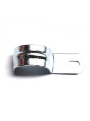 Скоба металева однолапкова d=19-20мм ДКС