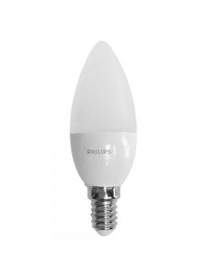 Лампа світлодіодна Philips C37 6.5W E14 4000K