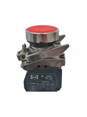 Кнопка Промфактор Пуск 1NC без фіксації червона