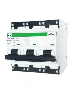 Автоматичний вимикач Промфактор FB1-125 ECO 3Р D100