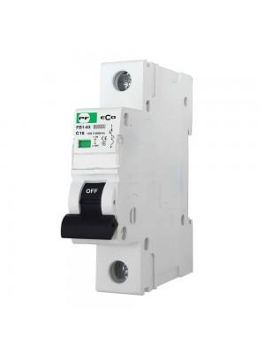 Автоматичний вимикач Промфактор FB1-63 ECO 1Р C10
