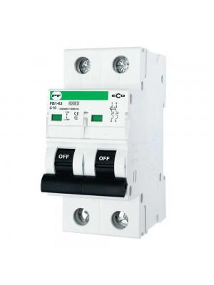 Автоматичний вимикач Промфактор FB1-63 ECO 2Р C10