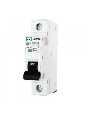 Автоматичний вимикач Промфактор FB3-63 EVO 1Р C16