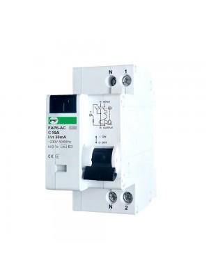 Диференційний автомат Промфактор FAP6-AC C10 30мА