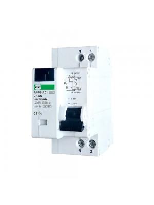Диференційний автомат Промфактор FAP6-AC C16 30мА