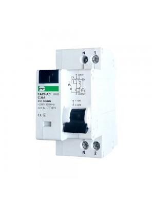Диференційний автомат Промфактор FAP6-AC C20 30мА