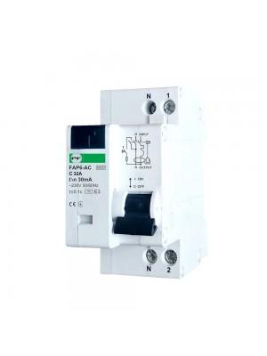 Диференційний автомат Промфактор FAP6-AC C32 30мА