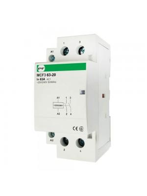 Контактор модульний Промфактор MCF3 63-20 2P