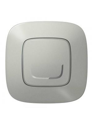 Розумний 1-кл вимикач з опцією димираValena Allure with Netatmo алюміній