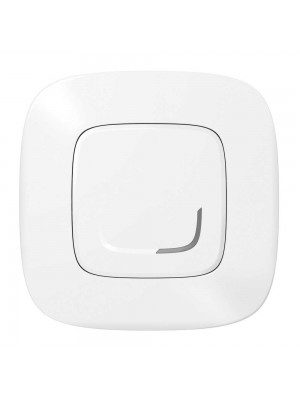 Розумний 1-кл вимикач з опцією димираValena Allure with Netatmo білий