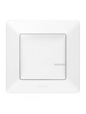 Розумний 1-кл вимикач з опцією димираValena Life with Netatmo білий