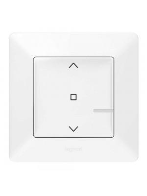 Розумний безпровідний вимикач жалюзі Valena Life with Netatmo білий