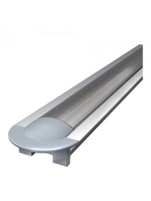 Профіль для LED стрічки Алюпро врізний анодований
