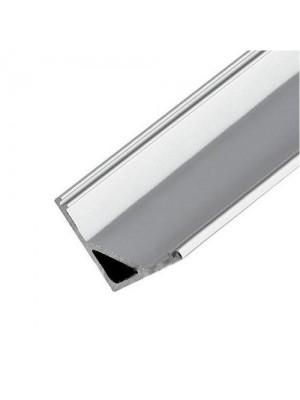Профіль для LED стрічки LED LIGHT кутовий широкий ПФ-9
