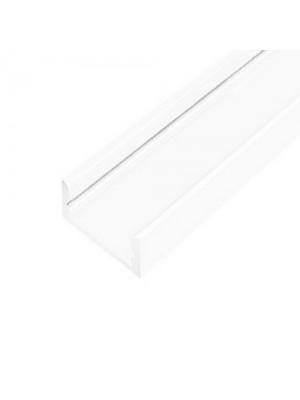 Профіль для LED стрічки UKRLED накладний білий