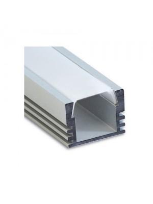 Профіль LED стрічки Feron накладний високий САВ261