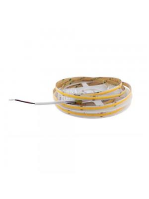 Стрічка LED RISHANG 24V 10W 3000K 320led 8мм IP20