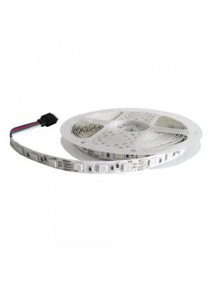 Стрічка світлодіодна LED LIGHT 12V 14,4W RGB 60Led IP21
