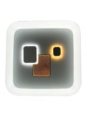 Світильник LED smart TOKIO+пульт 100W 3000-6000K IP20 квадрат