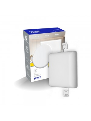 Світильник LED даунлайт Violux SPACE  6W 4200K квадрат IP20