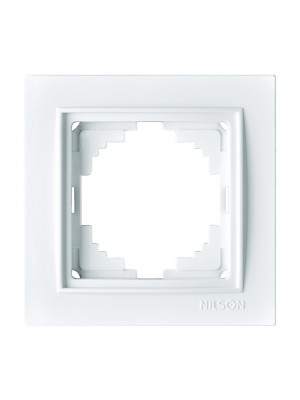Рамка Nilson Thor біла 1-на універсальна