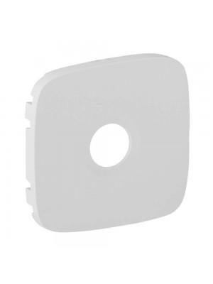 Лицева панель Valena Allure біла для розетки TV